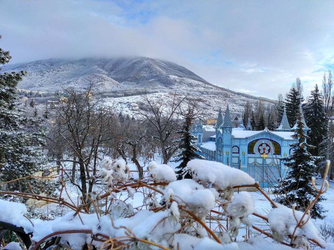 Картинки пятигорска зимой