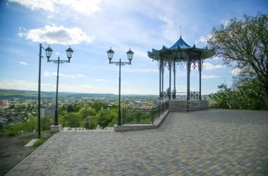 Новый облик Нагорного Парка