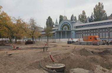 """Реконструкция парка """"Цветник"""""""